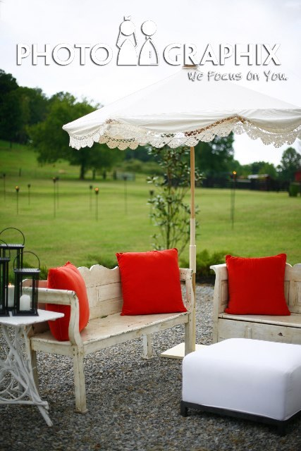 Inspiration, Reception, Flowers & Decor, white, orange, Outdoor, Board, Farm, Chic, Shabby, Benches, Southall eden