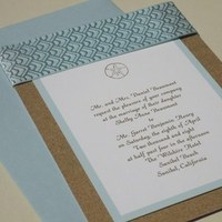 Inspiration, Stationery, blue, Beach, Beach Wedding Invitations, Invitations, Board, Sand, Dollar, Sky, Classy, Southall eden, Ocea