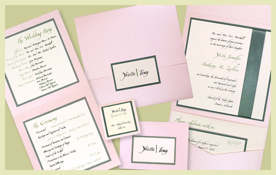 Stationery, pink, green, invitation, Invitations, Escort Cards, Program, Place card, Wedding program, Escort card, Save the date card, I do graphics