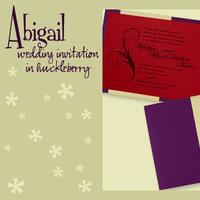 Stationery, red, purple, gold, invitation, Invitations, Pocketfold, Envelopments, Wedding invitation, Pocketfold invitation, I do graphics