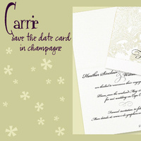 Stationery, white, silver, gold, invitation, Invitations, Save-the-Dates, Save the date, Elegant, I do graphics