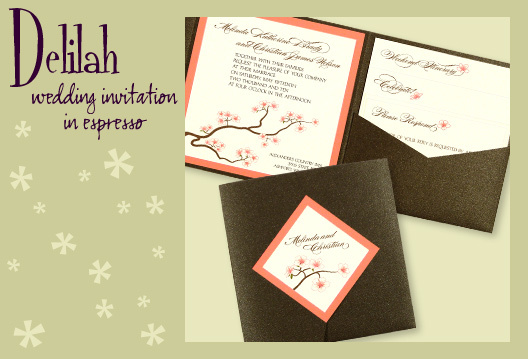 Stationery, orange, pink, brown, invitation, Invitations, Pocketfold, Envelopments, Wedding invitation, Pocketfold invitation, I do graphics