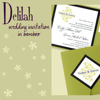 Stationery, white, green, black, invitation, Invitations, Pocketfold, Envelopments, Wedding invitation, Pocketfold invitation, I do graphics