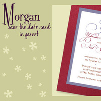 Stationery, white, red, blue, invitation, Invitations, Save-the-Dates, Save the date, I do graphics