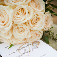 Ceremony, Flowers & Decor, Stationery, Ceremony Programs, Bouquet, Program, And