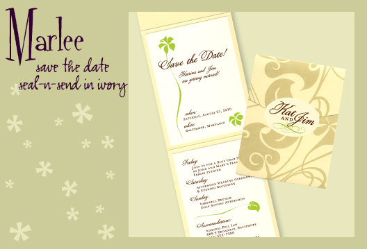 Stationery, white, yellow, green, brown, invitation, Invitations, Save-the-Dates, Save the date, Envelopments, I do graphics, Seal and send