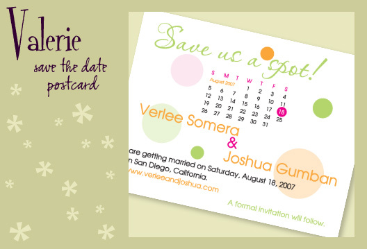 Stationery, white, orange, pink, green, invitation, Invitations, Save-the-Dates, Save the date, Postcard, Save the date postcard, I do graphics