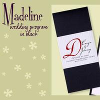 Stationery, white, red, black, invitation, Invitations, Program, Booklet, Wedding program, I do graphics, Booklet wedding program