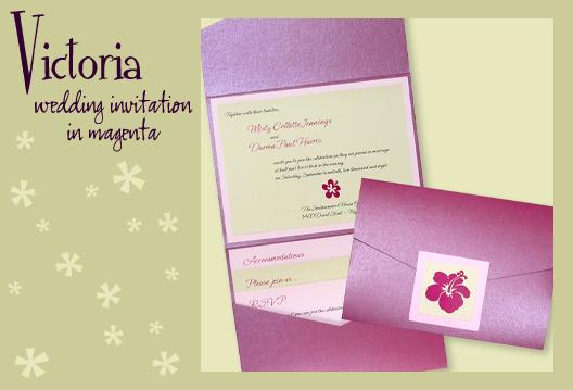 Stationery, pink, purple, green, invitation, Beach, Beach Wedding Invitations, Invitations, Tropical, Pocketfold, Envelopments, Wedding invitation, Pocketfold invitation, I do graphics