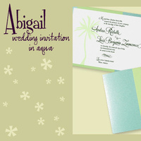 Stationery, blue, green, invitation, Invitations, Pocketfold, Envelopments, Wedding invitation, Pocketfold invitation, I do graphics