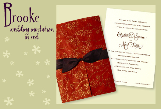 Stationery, red, green, brown, invitation, Invitations, Wedding invitation, Eco, Earth-friendly, I do graphics, Handmade paper