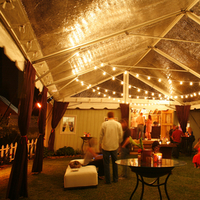 Inspiration, Reception, Flowers & Decor, Lighting, Wedding, Board, Tent, Top, Lights, Farm, String, Clear, Southall eden