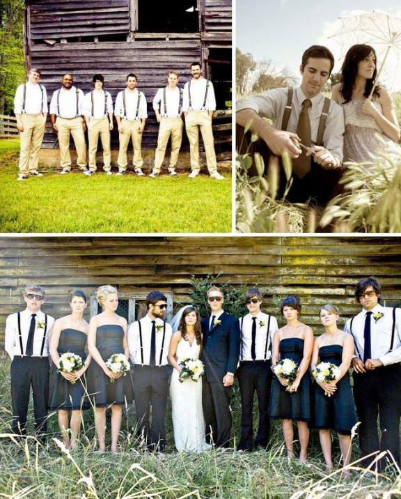 Bridesmaids, Bridesmaids Dresses, Vintage Wedding Dresses, Fashion, Vintage, Groomsmen, Retro, Suits, Casual, Suspenders