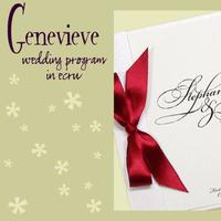 Stationery, white, red, invitation, Invitations, Program, Booklet, Wedding program, I do graphics, Booklet wedding program
