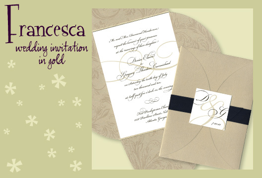 Stationery, white, black, gold, invitation, Invitations, Wedding invitation, I do graphics, Pouchette