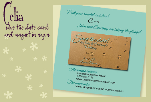 Stationery, blue, brown, invitation, Beach, Beach Wedding Invitations, Invitations, Save-the-Dates, Save the date, Magnet, I do graphics