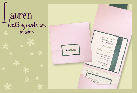 Stationery, pink, green, invitation, Invitations, Pocketfold, Envelopments, Wedding invitation, Pocketfold invitation, I do graphics