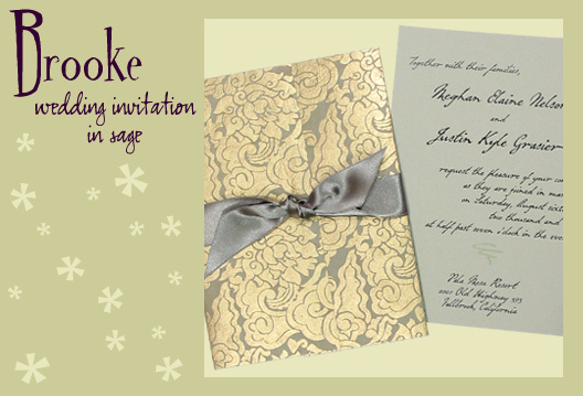 Stationery, green, gold, invitation, Invitations, Wedding invitation, Eco, Earth-friendly, I do graphics, Handmade paper
