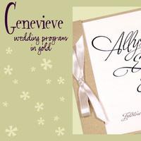 Stationery, white, gold, invitation, Invitations, Program, Booklet, Wedding program, I do graphics, Booklet wedding program