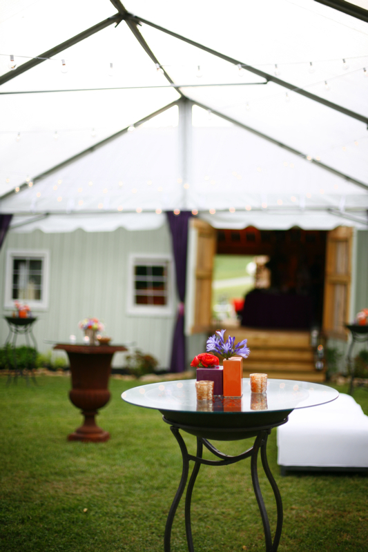 Inspiration, Reception, Flowers & Decor, orange, purple, Garden, Outdoor, Board, Tent, Top, Farm, Clear, Urn, Southall eden