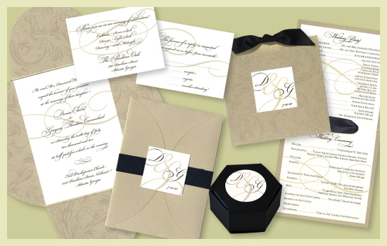 Stationery, white, black, gold, invitation, Invitations, Escort Cards, Program, Place card, Wedding program, Escort card, Save the date card, I do graphics