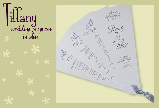 Stationery, blue, invitation, Invitations, Program, Fan, Wedding program, Fan program, I do graphics, Fan wedding program