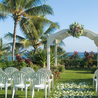 Ceremony, Flowers & Decor, Destinations, Hawaii, Kauai, Hyatt, Grand, Travel to maui