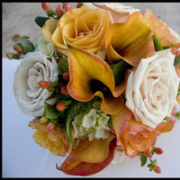 Flowers & Decor, white, yellow, orange, red, brown, gold, Flowers, Daniel james photography