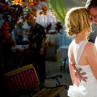 Beauty, Reception, Flowers & Decor, Wedding Dresses, Fashion, white, green, black, gold, dress, Hair, Vegas photo