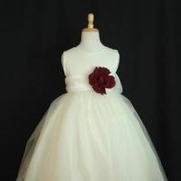 Ceremony, Flowers & Decor, Wedding Dresses, Fashion, white, red, dress, Ceremony Flowers, Flowers, Flower Wedding Dresses