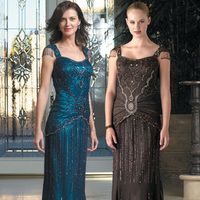 Wedding Dresses, Fashion, blue, brown, gold, dress, Bride, Of, Mother, The, Mob