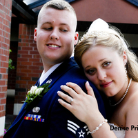 Beauty, blue, Bride, Groom, Hair, And, Denise prichett photography