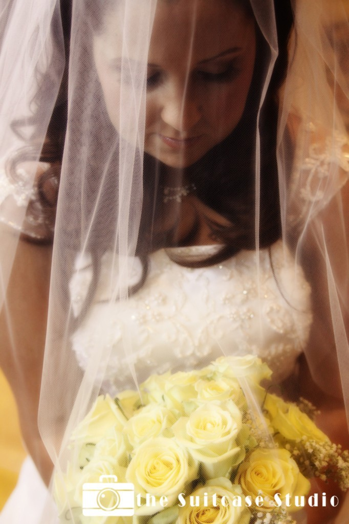 Flowers & Decor, Veils, Fashion, yellow, Bride Bouquets, Bride, Flowers, Bouquet, Portrait, Veil, The suitcase studio, Flower Wedding Dresses