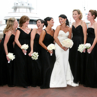 Ceremony, Inspiration, Flowers & Decor, Bridesmaids, Bridesmaids Dresses, Wedding Dresses, Fashion, white, black, dress, Board, Person killian photography