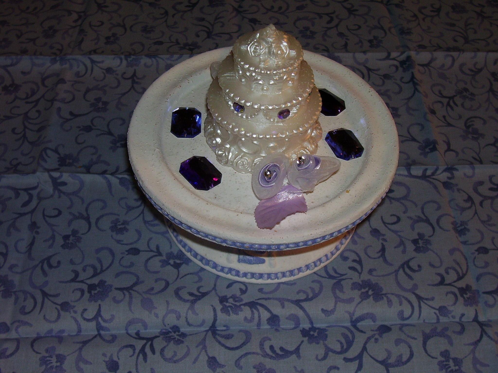 Reception, Flowers & Decor, white, purple, Centerpieces, Centerpiece, Flynns enchanted moments