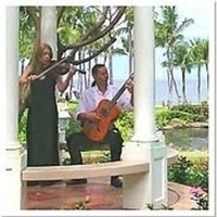Ceremony, Reception, Flowers & Decor, Destinations, blue, Hawaii, Musician, Music, Guitar, Violin, Maui, Quartet, Classical, String, Duo, Violinist-, Duets, Cambria moss, maui wedding violinist