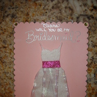 Bridesmaids, Bridesmaids Dresses, Fashion, pink, Gift, Bridesmaid, Card