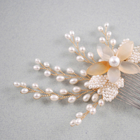 Beauty, Flowers & Decor, Jewelry, Bridesmaids, Bridesmaids Dresses, Fashion, white, ivory, silver, Comb, Bride, Flower, Girl, Hair, Bridal, Pearls, Cream, Accessory, Pearl, Beads, Jane tran design