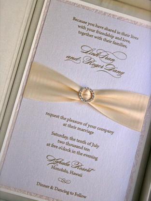 Flowers & Decor, Stationery, white, Invitations, Flower, Couture, Box, Rhinestone, Silk, Prim pixie, Buckle