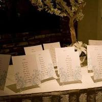 Calligraphy, Stationery, white, Place Cards, Orchids, Elegant, Placecards, Cream