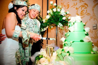 Reception, Flowers & Decor, Cakes, green, cake, Flowers