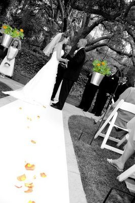Ceremony, Flowers & Decor, orange