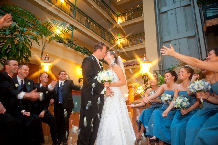 Ceremony, Flowers & Decor, Bridesmaids, Bridesmaids Dresses, Wedding Dresses, Fashion, blue, dress, Ceremony Flowers, Bridesmaid Bouquets, Flowers, Flower Wedding Dresses