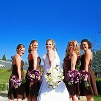 Beauty, Flowers & Decor, Bridesmaids, Bridesmaids Dresses, Wedding Dresses, Fashion, white, blue, dress, Bride Bouquets, Bridesmaid Bouquets, Bride, Flowers, Hair, The perfect shots photography, Flower Wedding Dresses