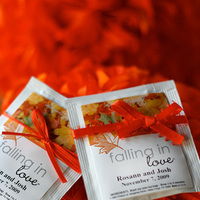 Favors & Gifts, orange, Favors, Tea