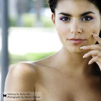 Beauty, purple, black, Makeup, Skyla arts makeup and photography