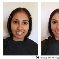 Beauty, brown, black, gold, Makeup, Skyla arts makeup and photography