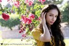 Beauty, yellow, pink, purple, green, brown, black, gold, Makeup, Skyla arts makeup and photography