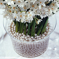 Ceremony, Inspiration, Reception, Flowers & Decor, white, yellow, orange, pink, red, purple, blue, green, brown, black, silver, gold, Board, Table decor, Pearl, Favors by lisa, Pearl accents