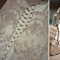 Wedding Dresses, Shoes, Fashion, white, gold, dress, Mimi nguyen
